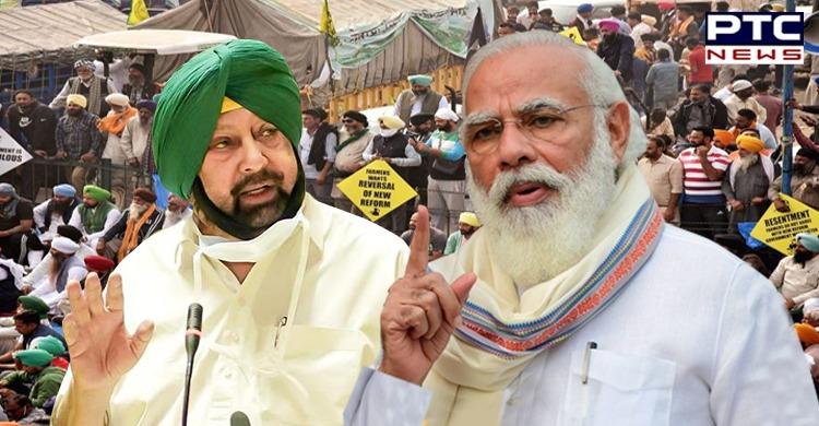 Farmers Protest: Captain Amarinder Singh urges PM Modi to listen to farmers' voice - I Love Punjab