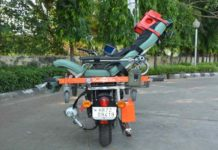 Motor Bike Ambulance