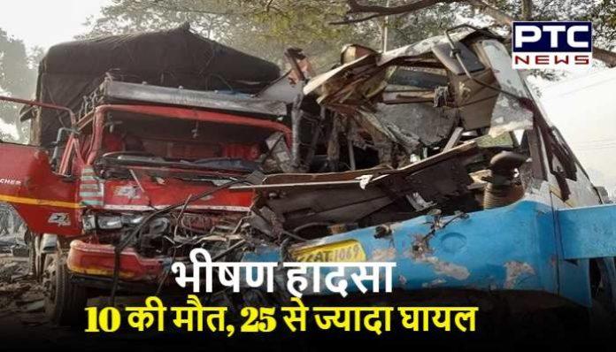 Moradabad road accident