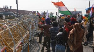 Gates of over 20 Delhi Metro stations temporarily closed as farmers clash with police