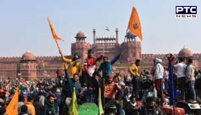 Deep Sidhu and Lakha Sidhana included in FIR registered by Delhi Police in violence at Red Fort during farmers' tractor march in Delhi on Republic Day.
