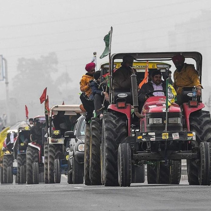 Farmer leaders meet With Delhi Police 'Kisan tractor parade route plan on January 26