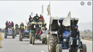 Kisan Andolan : Supreme Court Hearing Farmers Tractor march