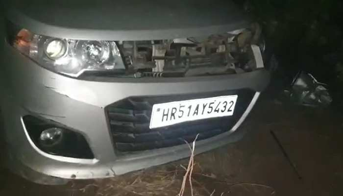Road Accident in Mahendragarh