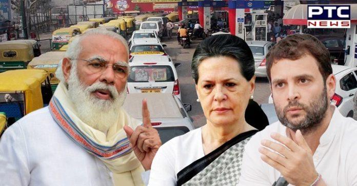 Congress leader Rahul Gandhi slams govt on hike in petrol, diesel prices