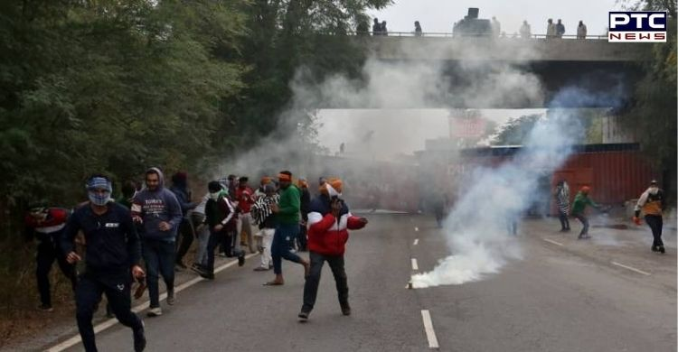 Farmers Protest: Shiromani Akali Dal President Sukhbir Singh Badal condemned brutal repression unleashed by BJP govt in Haryana against farmers.