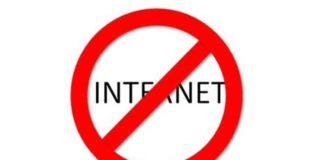Internet Service Shutdown