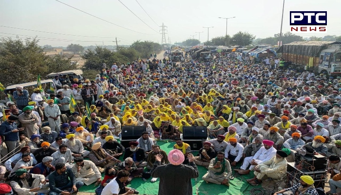 Lohri 2021: Farmers protesting at Delhi borders burnt copies of the farm laws 2020 at all agitation sites on the festival of Lohri.