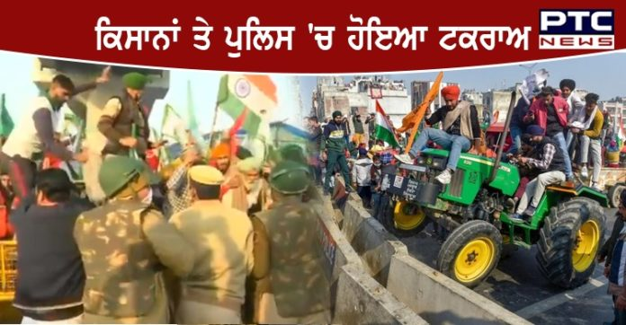 Farmers Tractor Parade on Republic Day 2021 against the Centre's farm laws