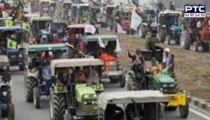 Delhi Police and Farmers between Meeting regarding Kisan Tractor Parade on January 26