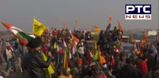 Farmers Republic Day Tractor rally from Tikri border enters in Delhi