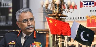 Pakistan and China together form a potent threat: Army Chief Manoj Mukund Naravane