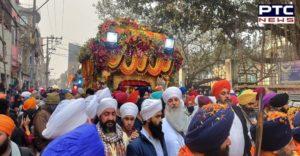 Takhat Sri Harimandir Sahib Ji (Patna Sahib) Nagar Kirtan birth anniversary of Sri Guru Gobind Singh Ji