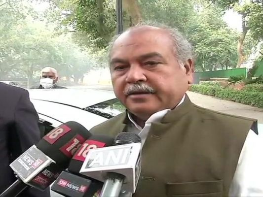 Ahead of the meeting between Centre and farmers, Narendra Singh Tomar said government welcomed Supreme Court's order on farmers protest.
