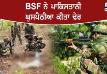 BSF shoots dead Pakistani intruder along International Border in Punjab's Amritsar