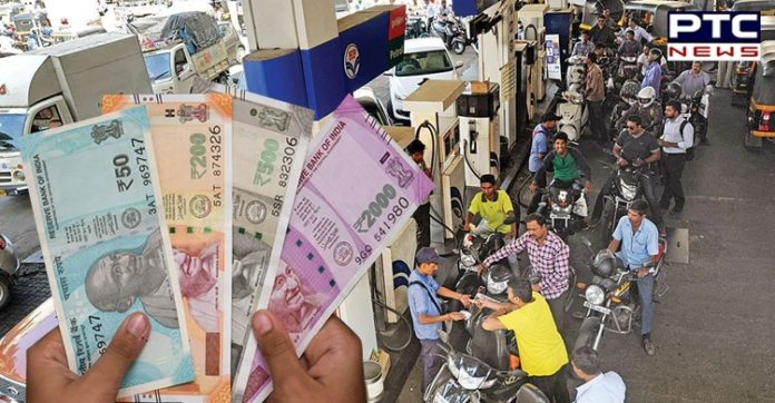 Petrol and Diesel prices in Delhi: Petrol, diesel prices hit new record highs after oil marketing companies kept rates unchanged for 2 days.