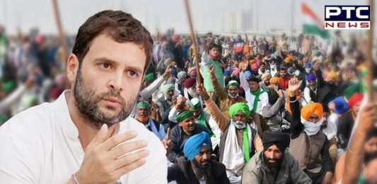 Rahul Gandhi in Karur, Tamil Nadu: Amid farmers protest, Rahul Gandhi slammed PM Narendra Modi and said that the PM was attacking farmers.