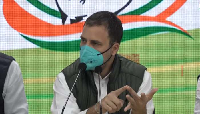 Amid farmers protest, Congress leader Rahul Gandhi released a booklet over three farm laws 2020 of the Central Government.