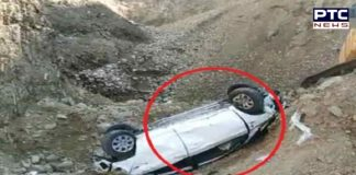 Road Accident happened to youths coming from Manali to Delhi to celebrate New Year