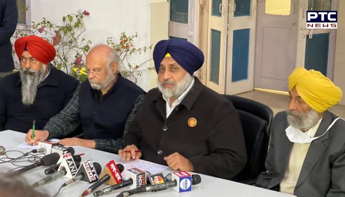 Shiromani Akali Dal President Sukhbir Singh Badal said Captain Amarinder Singh was acting like a proxy of the BJP. Republic Day violence.