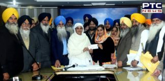 SGPC honors Prabhjot Kaur for winning gold medal in archery