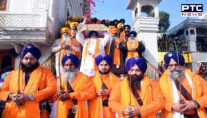 Nagar Kirtan decorated from Sri Akal Takht Sahib on the birth anniversary of Shaheed Baba Deep Singh Ji