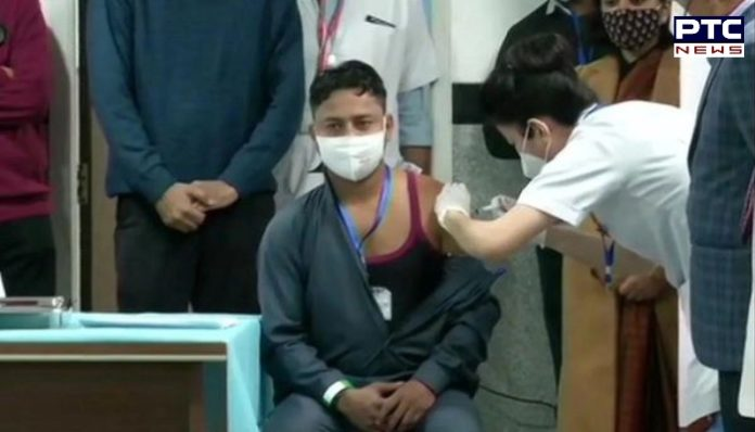 Sanitation Worker Manish Kumar Becomes First Indian to Get Covid-19 Vaccine in Milestone Moment