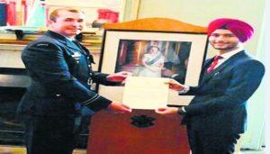 Simran Singh Sandhu Royal Australian Air Force officer from Ferozepur district of Punjab