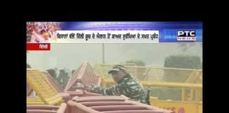 Strong security arrangements in Delhi