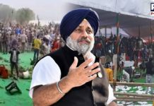 Sukhbir Singh Badal condemns police repression against farmers in Haryana