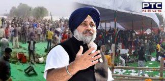 Amid farmers protest against farm laws 2020, Shiromani Akali Dal President Sukhbir Singh Badal said BJP misusing NIA against farmers.