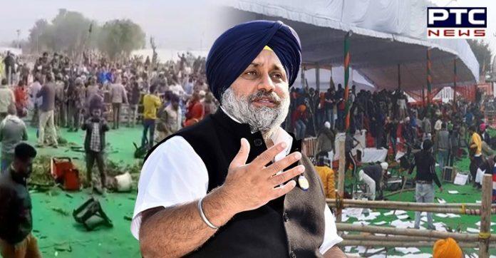 Shiromani Akali Dal (SAD) President Sukhbir Singh Badal condemned case against DSGMC President Manjinder Singh Sirsa.