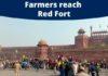 Tractor March Delhi: Farmers reach Red Fort in Delhi