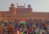 Tractor March Delhi: Farmers reach Red Fort in Delhi