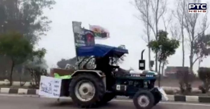 Kisan Gantantra Parade: Farmer drives tractor in reverse gear from Punjab to Delhi