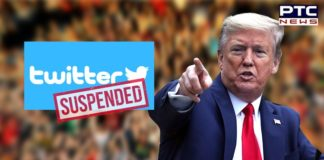 Twitter permanently suspends Trump's account, suspends campaign account