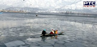 Dal lake freezes as Srinagar records coldest winter night in 25 years