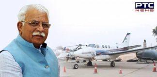 Haryana CM Manohar Lal Khattar inaugurates air taxi services
