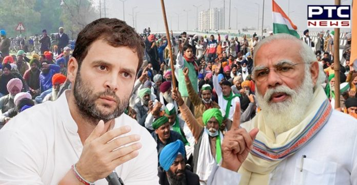 Mark my words! Govt will be forced to repeal farm laws: Rahul Gandhi