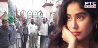 Farmers protest: Shooting for Janhvi Kapoor's upcoming film stopped in Patiala