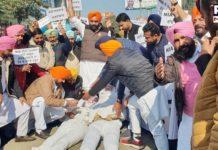 YAD burns effigies of Narendra Modi and Home Minister Amit Shah across Punjab
