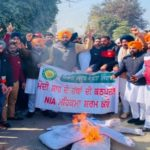 YAD burns effigies of Narendra Modi and Home Minister Amit Shah across Punjab
