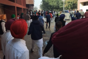 Cong goons Attacked on Akali Worker