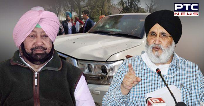 SAD asks CM to tell Punjabis what action he had taken in Jalalabad attack against Sukhbir Singh Badal