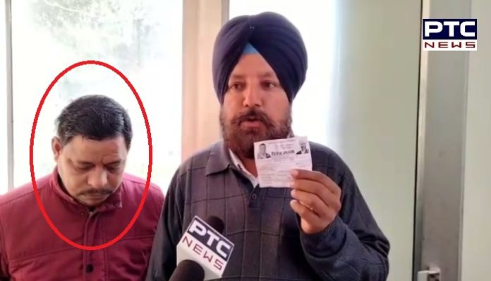 Punjab Municipal Election 2021 : Bathinda ward No. 14 caught the voters came to cast fake votes
