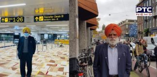 Sikh leader Bhupinder Singh Holland deported from Delhi airport under the Farmers Protest