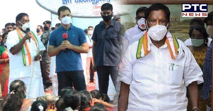 Puducherry floor test: Puducherry govt falls as CM V Narayanasamy loses trust vote