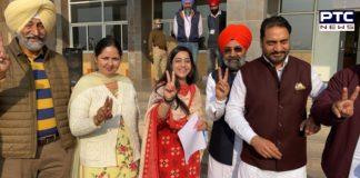Congress candidate Jaspreet Kaur