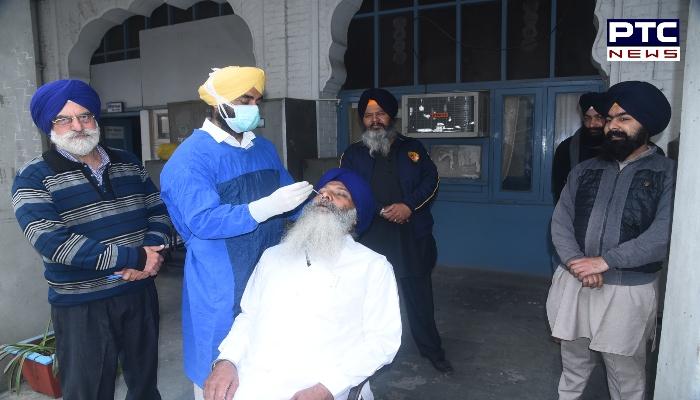 SGPC corona screening camp for the pilgrims going to Pakistan of Sri Nankana Sahib