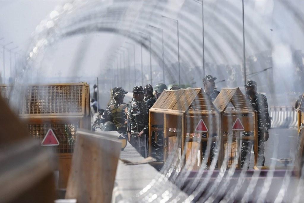 Farmers'Chakka jam' today : Delhi Police on high alert to avoid Red Fort-like incident